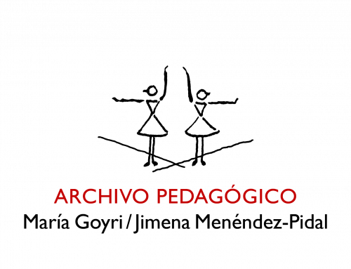 Archivo Pedagógico María Goyri/Jimena Menéndez-Pidal