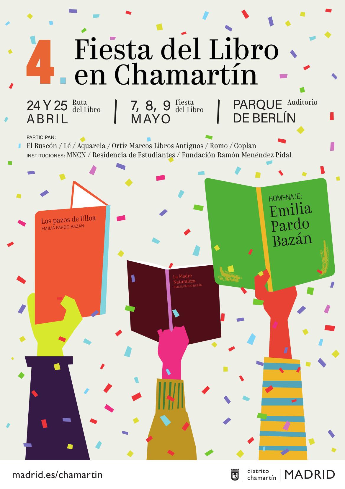 Fiesta del Libro en Chamartín