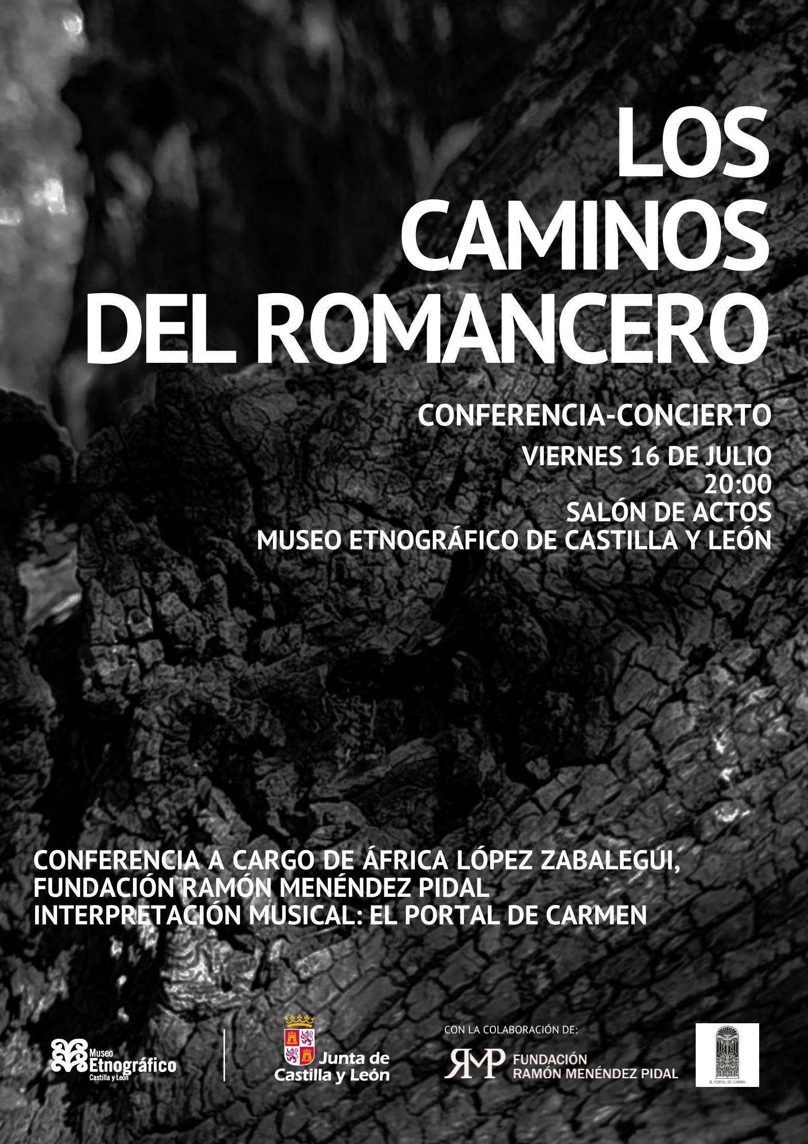 conferencia-concierto los caminos del romancero